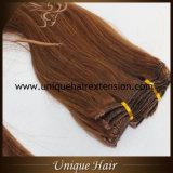 Clip accessible de Remy dans des extensions de cheveu