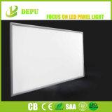 40W 50W 60X60cm dünne LED Instrumententafel-Leuchte mit silbernem Rahmen Ugr<19