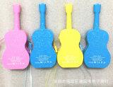 batería móvil de la potencia del teléfono celular de la guitarra de la potencia de la historieta 3000mAh