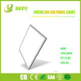 600X600 2X4 36W 48W 100lm 정연한 편평한 LED 위원회 빛 표준 크기 LED 위원회