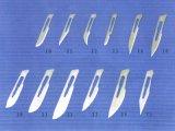 Het Chirurgische Blad voor éénmalig gebruik van het Koolstofstaal met Ce en ISO