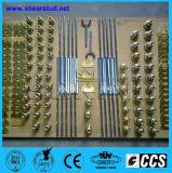 Вычерченная система дуговой приварки шипов для стальной структуры