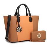 Spalla della borsa della cartella strutturata grande maniglia del sacchetto di Tote del progettista delle donne superiore