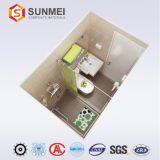Salle de bains avec Honeycomb préfabriqués aluminium Panneau alvéolé
