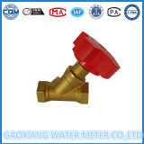Válvula de cobre amarillo del balance de la alta calidad del fabricante