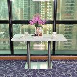 4 사람을%s 현대 인공적인 돌 대중음식점 테이블