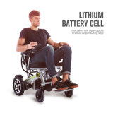 24V 200W Energien-leichter faltbarer motorisierter Rollstuhl für Behinderte