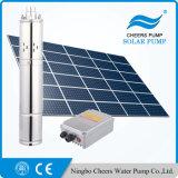 preço em o abastecedor submergível solar da C.C. 1HP, bomba de água solar de alta pressão, bomba solar da perfuração