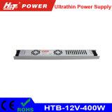 12V 33A 400W ultradünne Stromversorgung für das Bekanntmachen des hellen Kastens