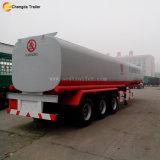 Eje 3 42000L Crudo de petróleo diesel tanque cisterna tráiler