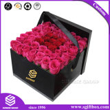 우아한 도매 꽃 손잡이를 가진 꽃을%s 포장 상자 선물 상자