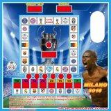 Tho la mayoría de la máquina de juego popular de la ranura en pequeña máquina del casino de África