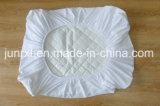 Pesebre blanco impermeable de bambú del bebé de la base de las chozas de bebé ajustado y cubierta de la pista de colchón del niño/protector