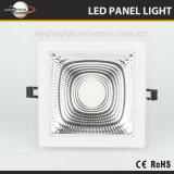 MAZORCA cuadrada LED Panellight Downlight de la MAZORCA 15W de Aluminum+Glass
