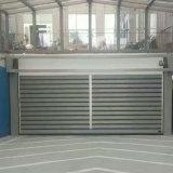 Puerta rápida dura del obturador del rodillo de puerta del garage de la turbina para el canal de la logística