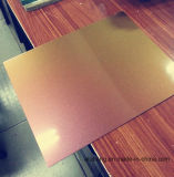 Material de decoração de cor madeira Painel Composto de alumínio