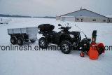 18n 13HP soplador de nieve ATV y UTV Lanzador de Nieve Nieve/Quad/extractor de lado X lado de la pala de nieve W Ce, GS, la EPA125cm de ancho de trabajo (49 pulgadas en polvo por Honda Motor Ce