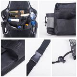 Kundenspezifischer Polyester-Auto-Rücksitz-Organisator für Speicherung mit 7 Taschen