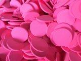 Puff Cosméticos grossista face espelho redondo branco em pó Esponja esfoliante
