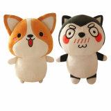 Stuk speelgoed van de Hond van de Pluche van de Verkoop van het Puppy van Corgi het Leuke Hete Dierlijke Zachte