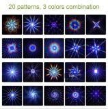옥외 레이저 광 20 패턴 RGB 점화 영사기 쇼 당 정원 빛