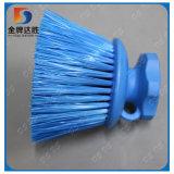 Einfach blauen Nylonplatten-Pinsel nehmen