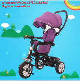 Triciclo de bebé plegable con sombrilla