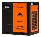 Lubricación Oil-Less 53cfm compresor de aire de tornillo impulsado por correa