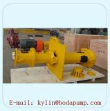 Pompe verticale de boue de carter de vidange de grande capacité d'extraction de l'or