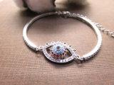 Farbiger Form-Schmucksache-Diamant mustert Link-Armband für Frauen