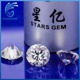 H&a rotondo ha tagliato 9.0mm fuori dal diamante bianco di Moissanite di chiarezza di Vvs da vendere