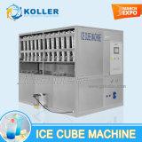 Aprovado pela CE 3 toneladas máquina de cubos de gelo com sistema de embalagem Semiautomático (CV3000)