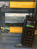 La radio de dos vías de la venda de la frecuencia ultraelevada con el GPS informa a la función