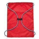 ロゴのドローストリング袋が付いている昇進袋最小値のバックパック無し