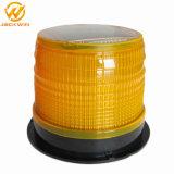 Voyants d'alarme ambres actionnés solaires de DEL