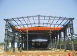 Edificio prefabricado ligero de la estructura de acero