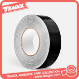 重い包装の布の粘着テープ、黒い布ダクトテープ