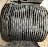 Corde de fils en acier galvanisé, grue câble métallique