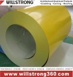 De kleur Met een laag bedekte Rollen van het Aluminium met Deklaag PVDF
