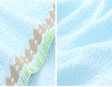 OPP袋が付いている速い乾燥の綿のスポーツタオル