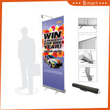 Exposición de Vertical Pop up Stand plegable de Banner Roll up display Banner