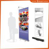 Pop-up de dobragem de Exposições Vertical Stand Banner Roll Up Display Banner