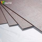 Nuove mattonelle di pavimento della plastica di vinile di colore 2017