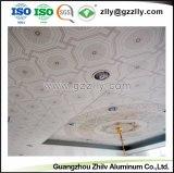 Het eenvoudige en Fatsoenlijke Diagonale Comité van het Plafond van de Bloem Polymere