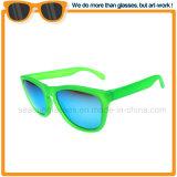 Lente de revestimento polarizada Driver articulada de óculos de sol para Homens Mulheres