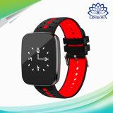V6 BluetoothのブレスレットIP67は情報処理機能をもった腕時計を監察する同期心拍数を防水する