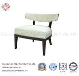 Мебель гостиницы с стулом отдыха с белой кожей (YB-0685B)