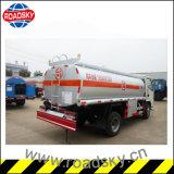 頑丈な3300kg容量の交通機関の石油燃料はタンク車に燃料を補給する