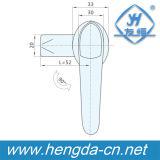 O punho em forma de L da chave do metal da porta de gabinete trava (YH8024)