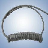 Handpieceの歯科螺線形の管2本の穴の管